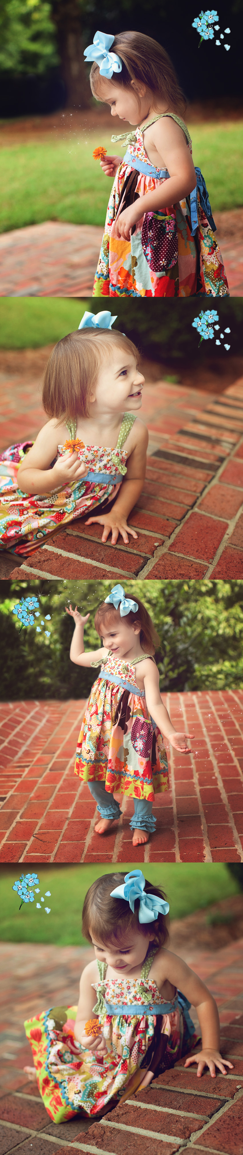 2nd birthday picture on location in High Point, NC
