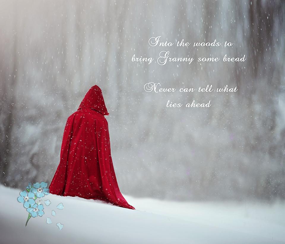 Red Riding Hood photos - poconos pennsylvania