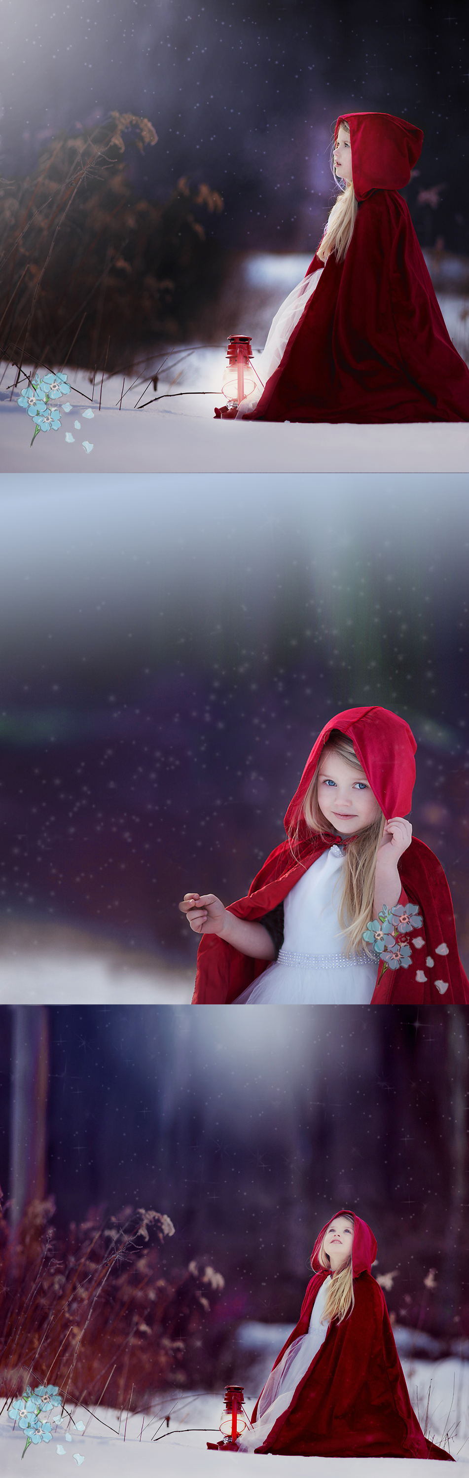 Little Red Riding Hood - Children's Photographer
